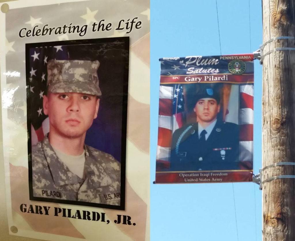 memorial day honoring Gary Robert Pilardi Jr