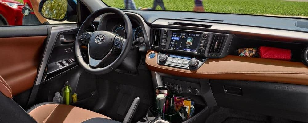 Great 2018 Toyota RAV4 Interior