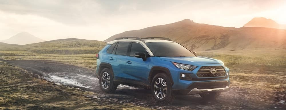 2019 Toyota RAV4 Adventure in blue