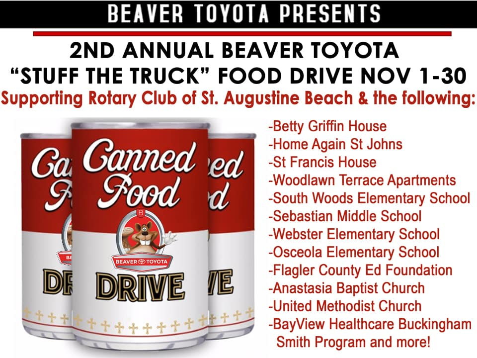 2nd Annual Beaver Food Drive