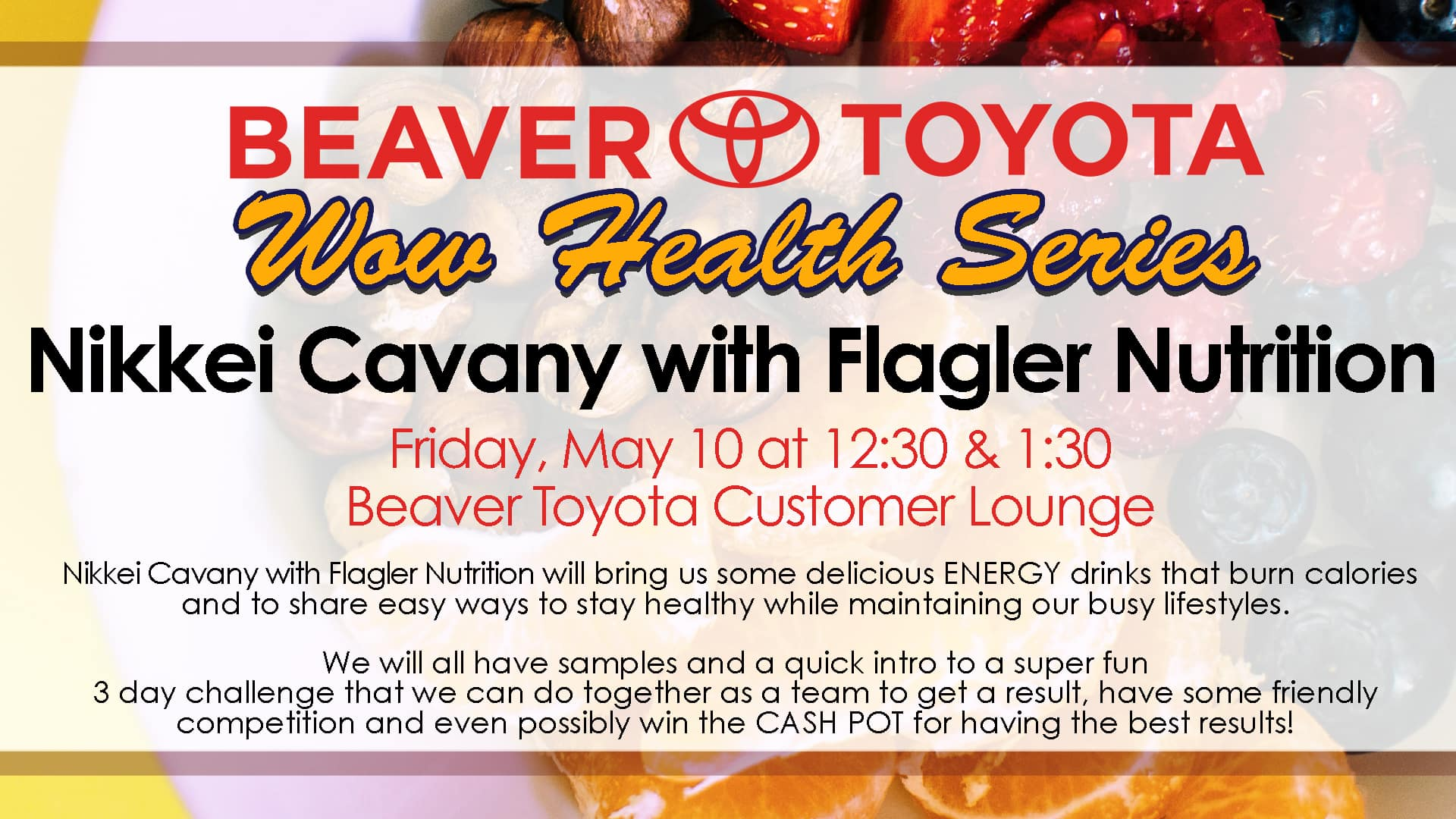 Wow Health Series Flagler Nutrition Nikkei Cavany