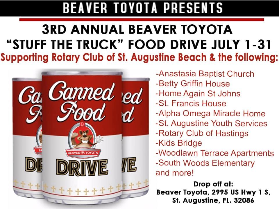 Food Drive July 2019