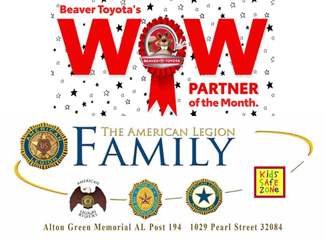 Alton Green Wow Partner of the Month Beaver Toyota