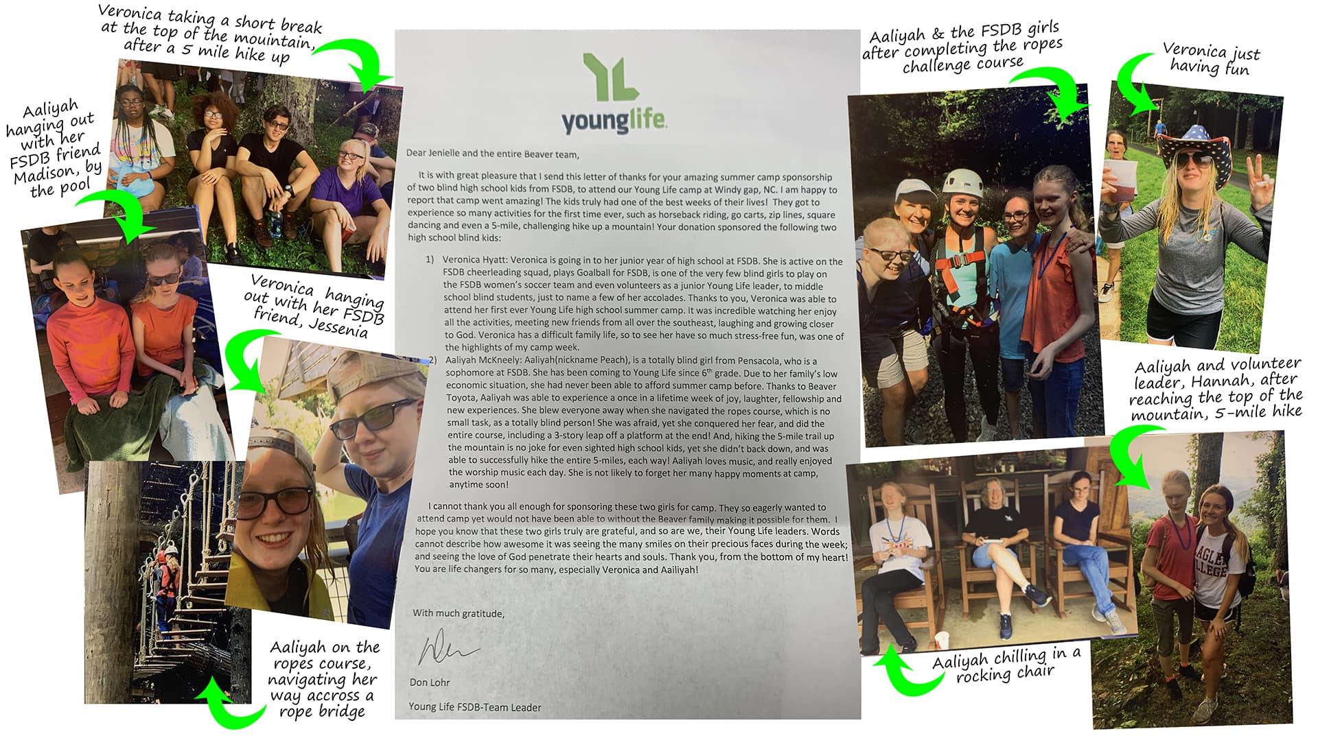 Young Life Camp FSDB