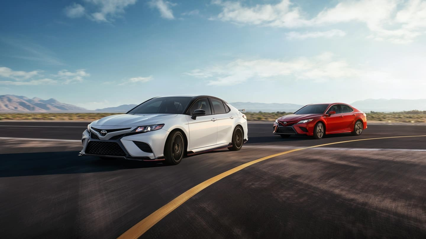 2020 Camry driving on road