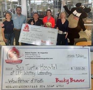 Sea Turtle Hospital Beaver Toyota Wow Partner