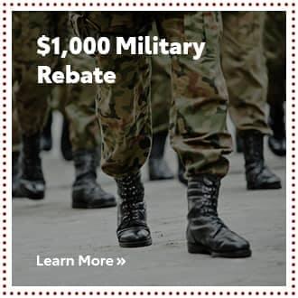 $1000 Military Rebate
