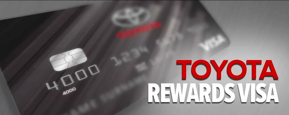 Toyota rewards visa card