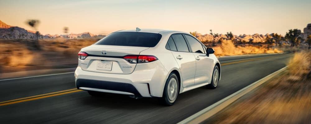2021 Toyota Hybrid vehicle
