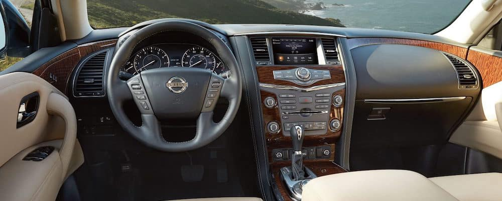 The interior of the 2018 Nissan Armada