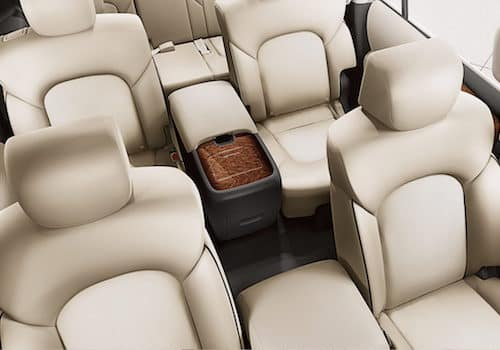 The seating on the 2018 Nissan Armada