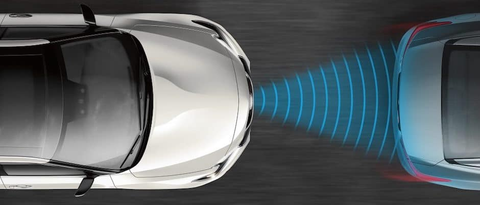 Front Collision Warning on Nissan Intelligent Driving