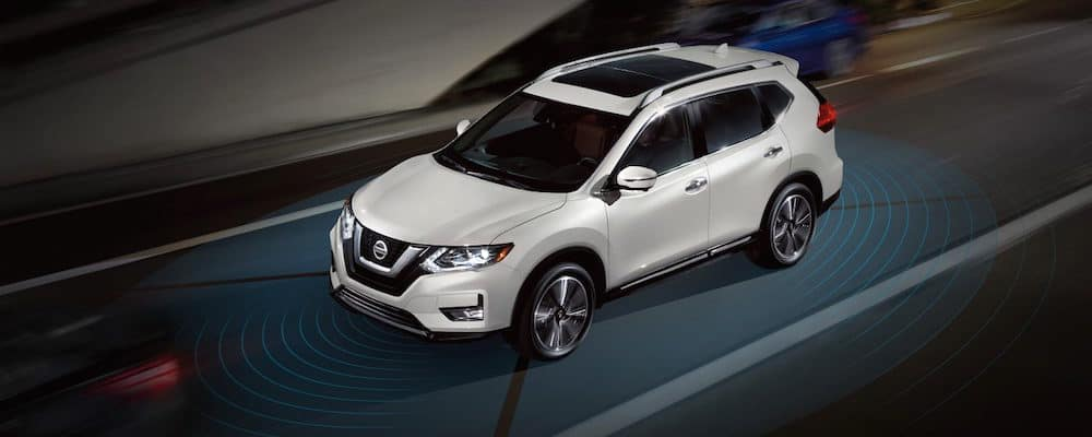 A 2018 Nissan Rogue with ProPILOT