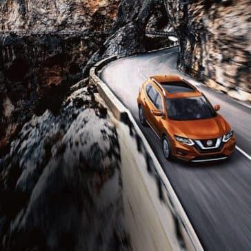 2018 Nissan Rogue sl exterior monarch orange original