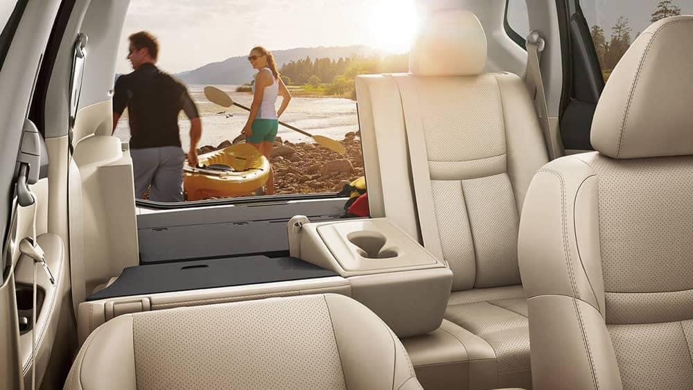 2018 Nissan Rogue sl interior almond leather original