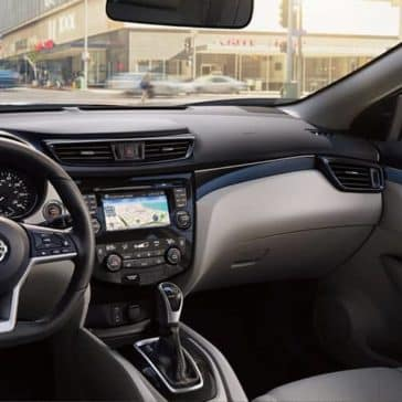 2018.5 Nissan Rogue Sport Interior design front