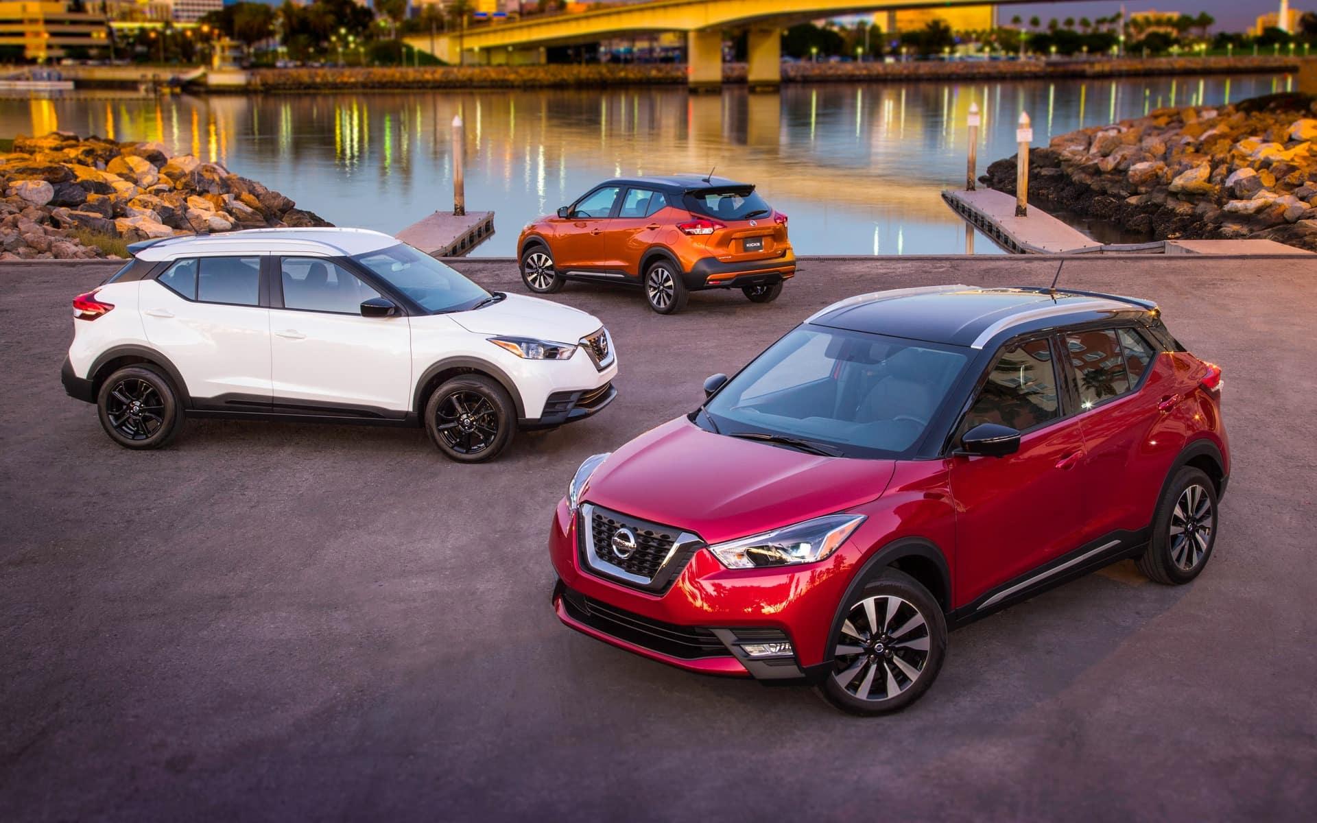 2018 Nissan Kicks Crossover SUV at Bill Kay Nissan