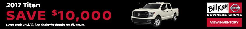 Nissan Titan July Offer