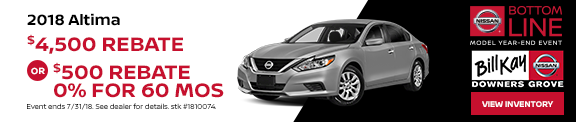 Altima August Offer