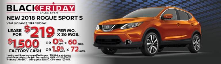 New Nissan November Rogue Sport S