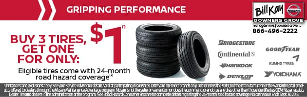 Gripping Performance/Tire Special Coupon