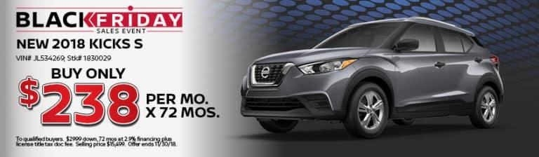 New Nissan Kicks Special Offer