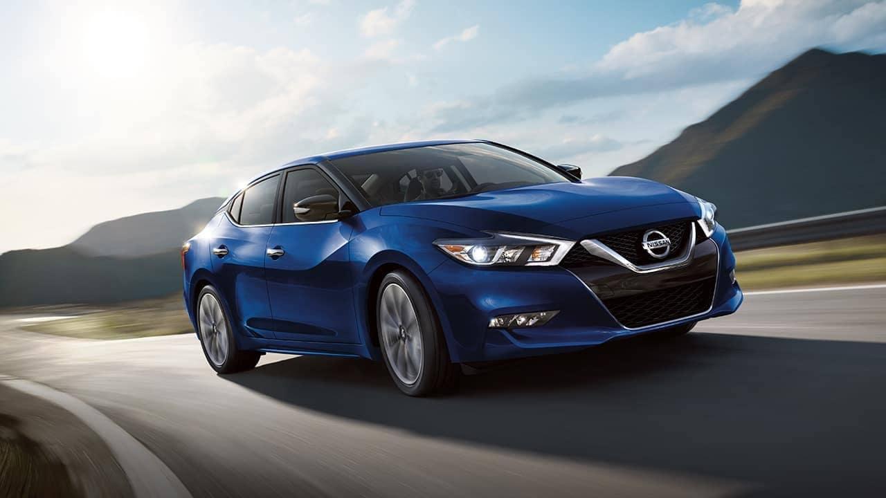2018 Nissan Maxima driving