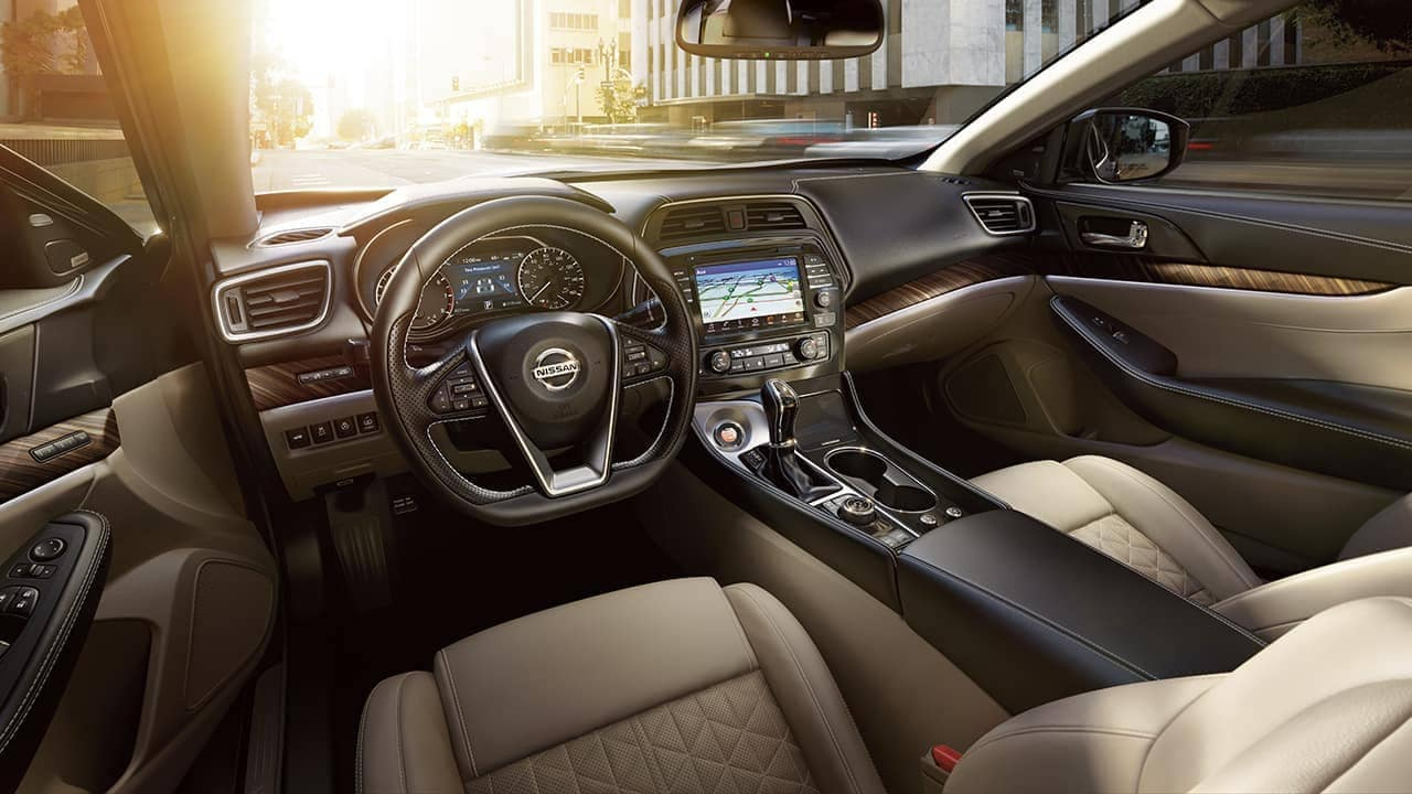 2018 Nissan Maxima interior drivers side view