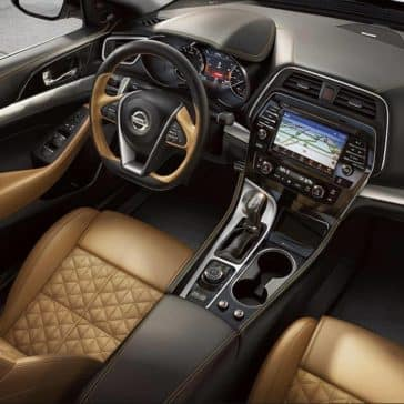 2018 Nissan Maxima showing premium interior options