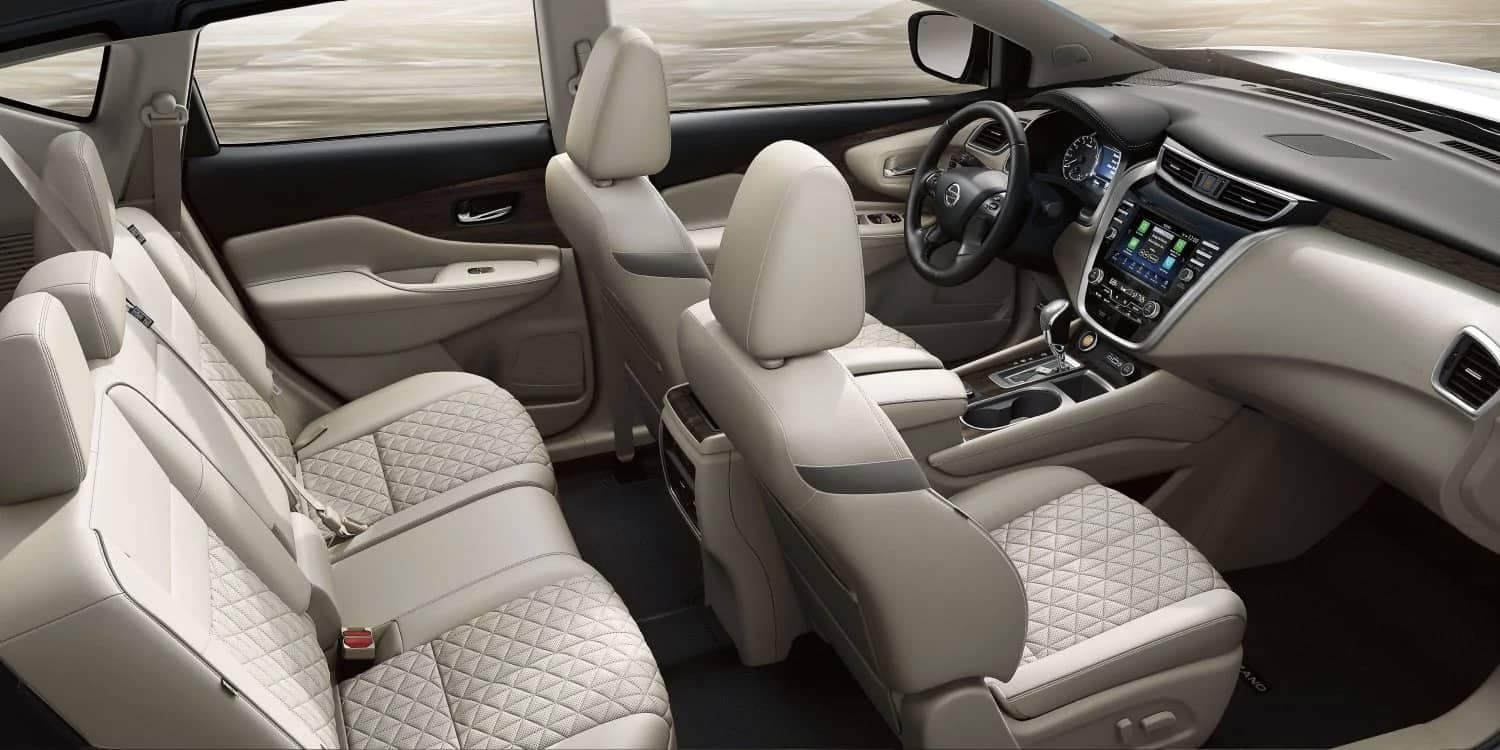 2019 Nissan Murano interior seating