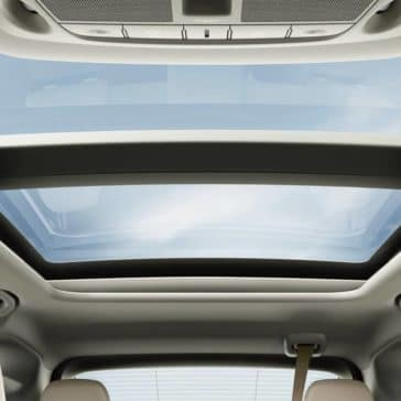 2019 Nissan Murano panoramic moonroof