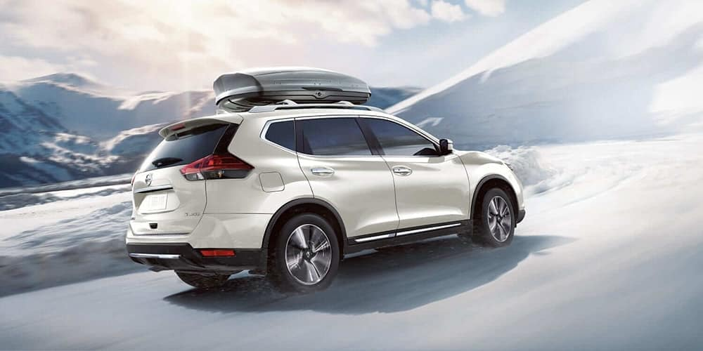 2019 Nissan Rogue exterior rear view