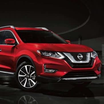 2019 Nissan Rogue exterior scarlet ember tintcoat