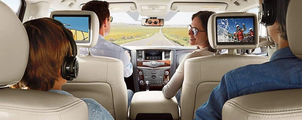 2019 Nissan Armada Interior Features Bill Kay Nissan