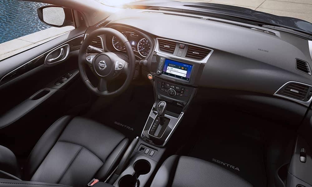2019 Nissan Sentra front interior