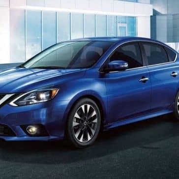 Blue 2019 Nissan Sentra