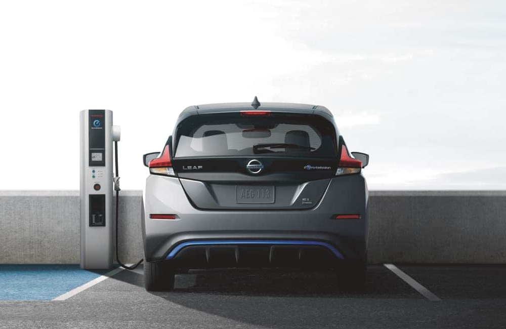 2019 LEAF charging in public