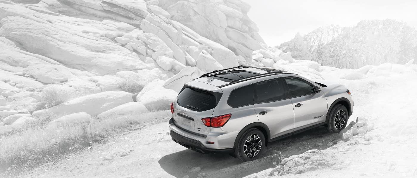 White 2019 Nissan Pathfinder