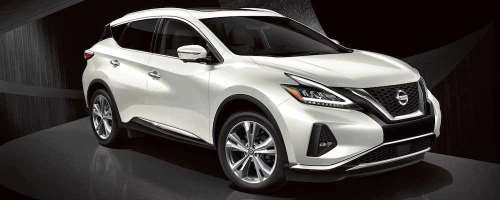 2019 Nissan Murano in white