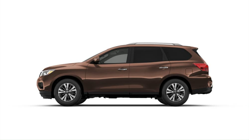2019 Nissan Pathfinder SL brown