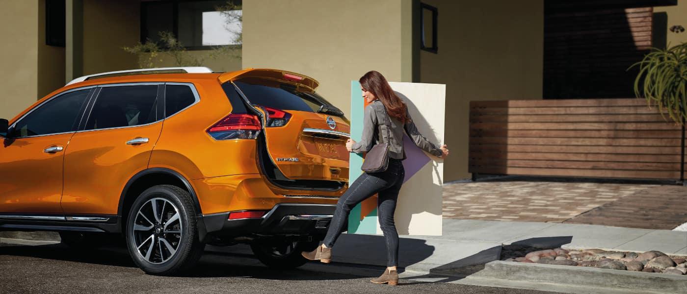 2019 Nissan Rogue Orange