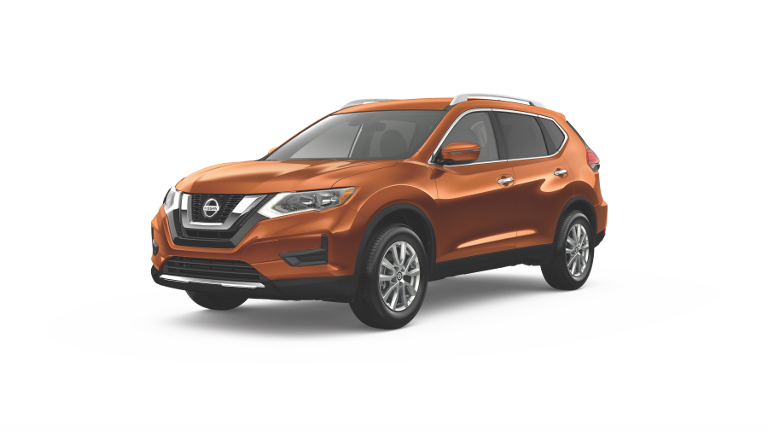 2019 Nissan Rogue SV Orange