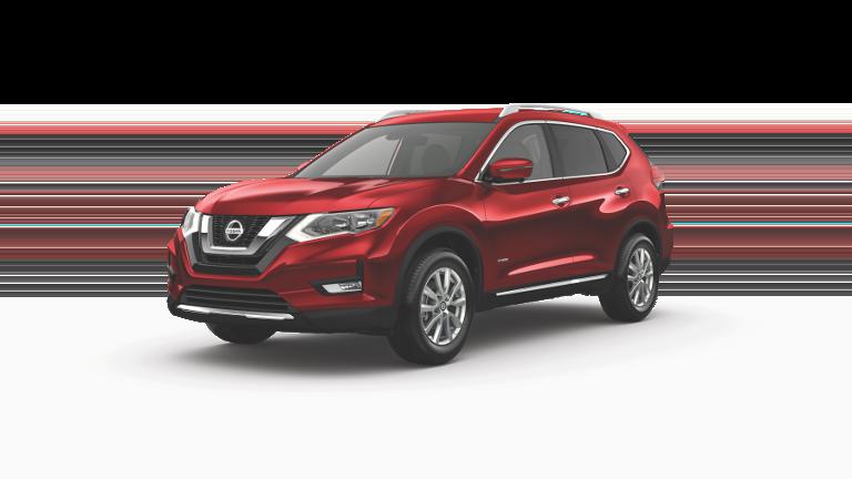 2019 Nissan SL Hybrid Red