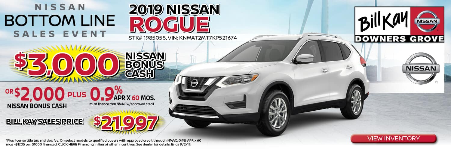 Buy a 2019 Nissan Rogue for $21,997