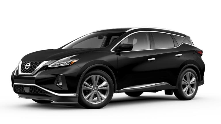 2019 Nissan Murano Platinum black