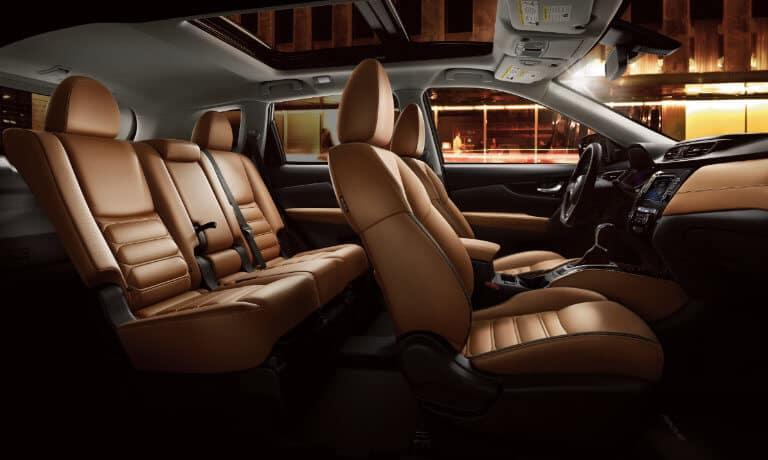 2019 Nissan Rogue Interior seating