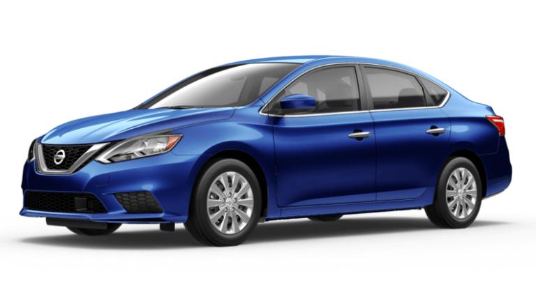 Blue 2019 Nissan Sentra S