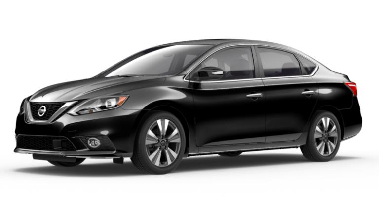 Black 2019 Nissan Sentra SL