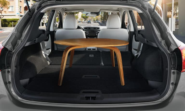 2019 Nissan Rogue Sport interior rear view