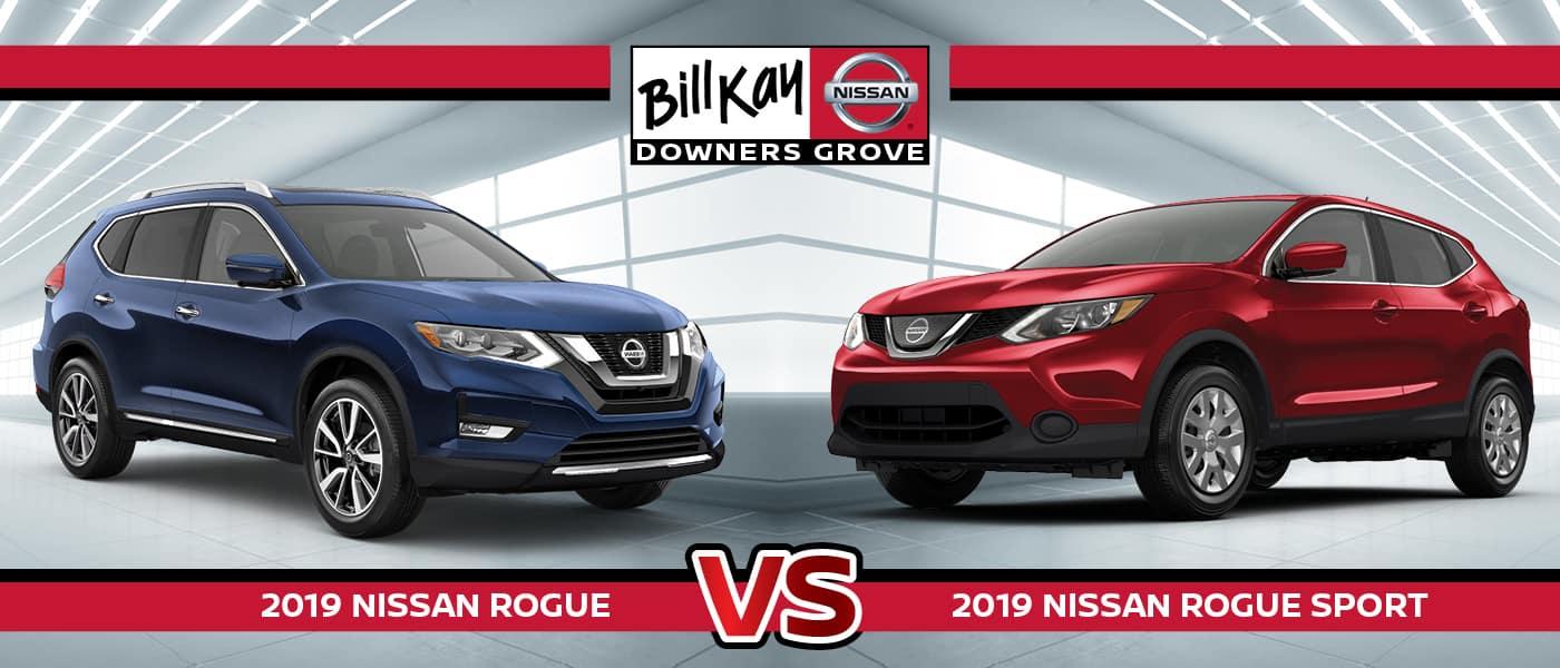2019 Nissan Rogue vs. Rogue Sport